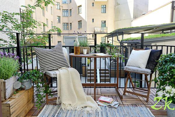 дизайн маленького балкона20