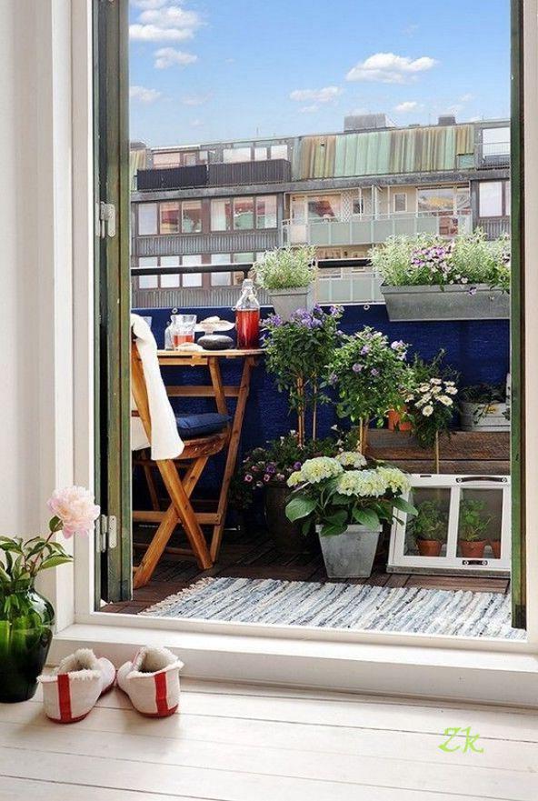 дизайн маленького балкона22