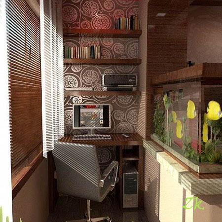 кабинет на балконе1