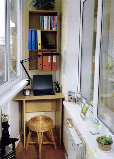 кабинет на балконе9