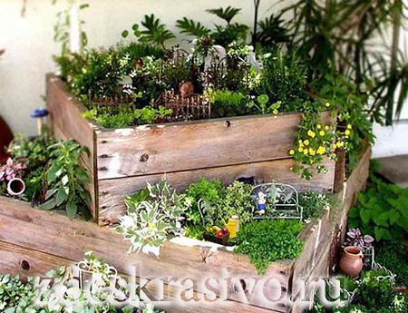 Аксессуары для мини сада