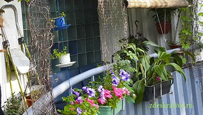 красивый балкон--