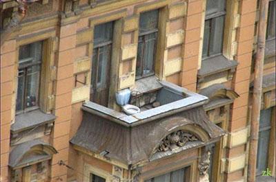 смешной--балкон