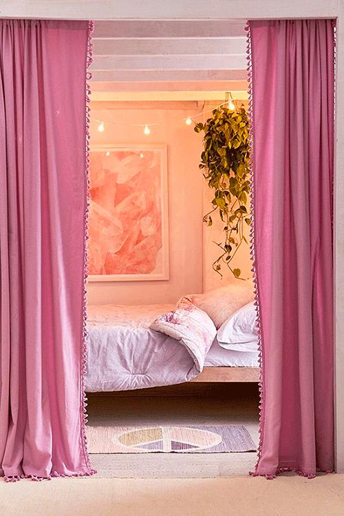 как украсить шторы тесьмой