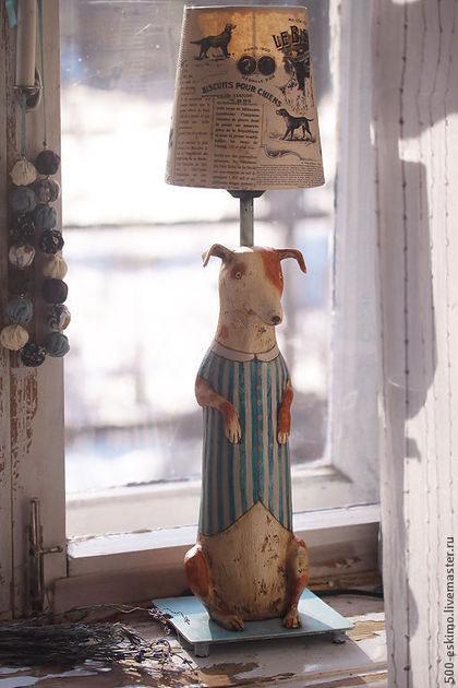Светлана Соловая -светильники папье маше1