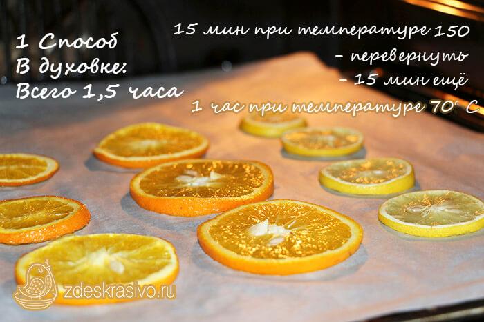 Kak_sushit_apelsiny_v_duhovke_bystro