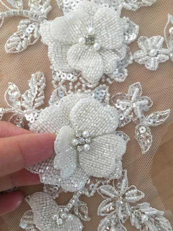 Виды вышивки бисером