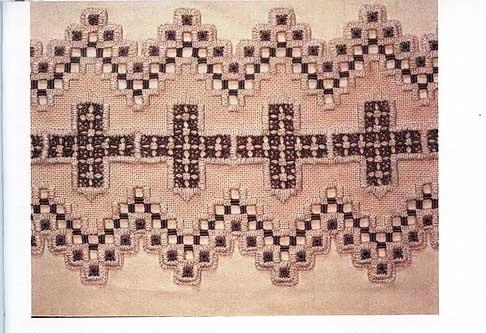 Виды вышивки - хандангер