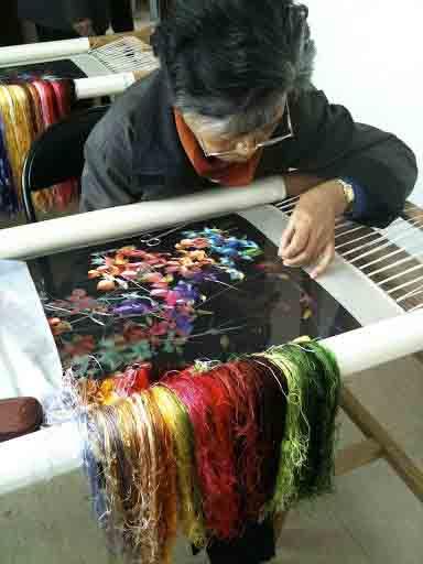 Виды вышивки - китайская