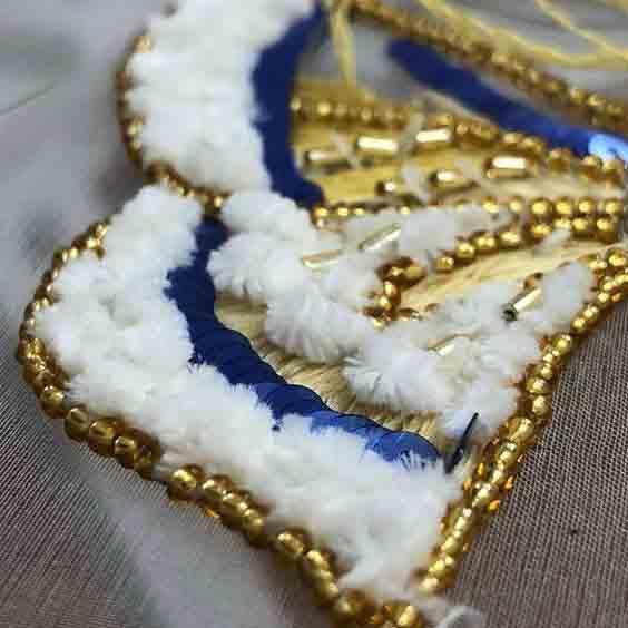 Виды вышивки - синель