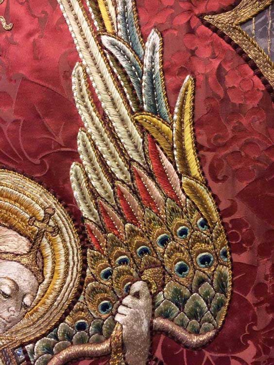 Виды вышивки - золотое шитье 1