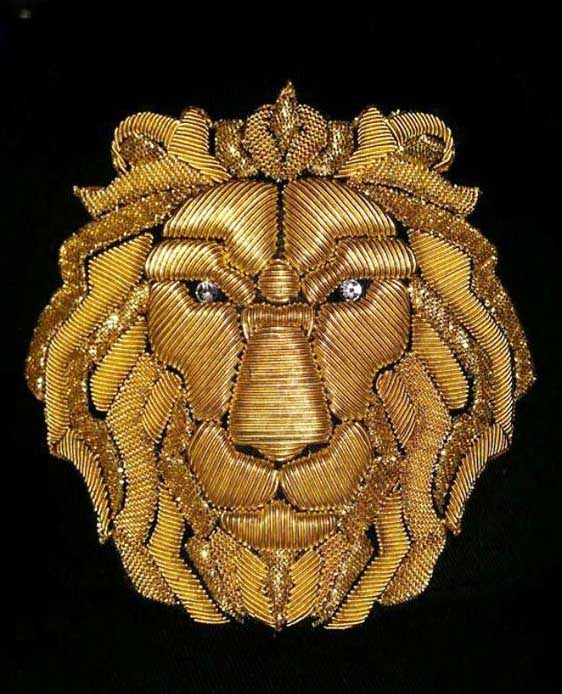 Виды вышивки - золотое шитье 2
