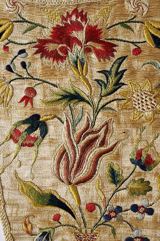 Виды вышивки - якобинская 2
