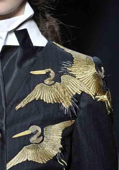 Виды вышивки - золотое шитье