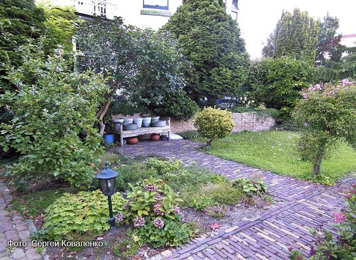 Голландские дворики садики и цветники16