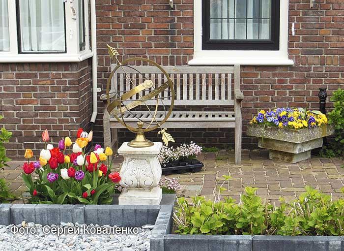 Голландские дворики садики и цветники 3