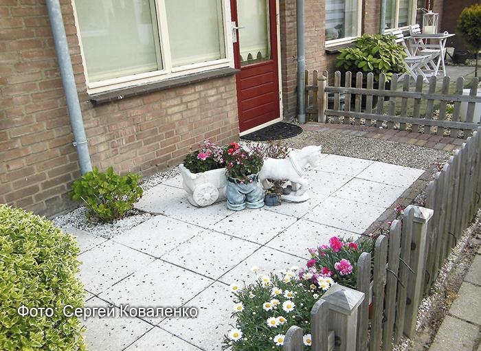 Голландские дворики садики и цветники 6