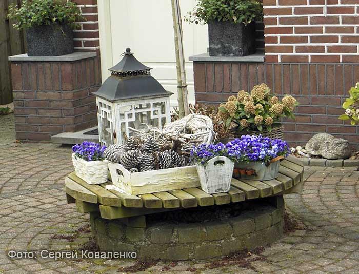 Голландские дворики садики и цветники 25 фото