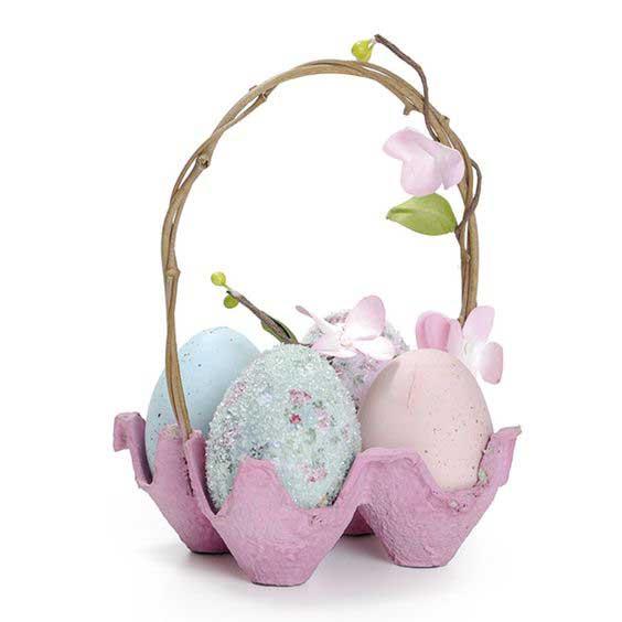 Пасхальная корзинка- поделки к пасхе с детьми