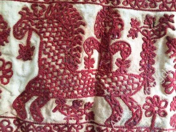 Древнерусская тамбурная вышивка