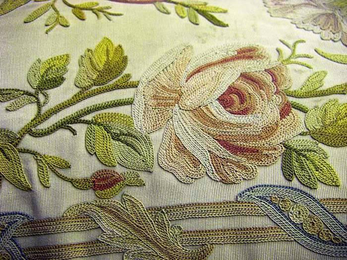 Тамбурная вышивка- коллекция Эрмитажа