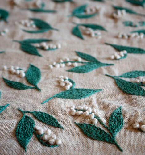 Тамбурная вышивка Юмико Хигучи 4