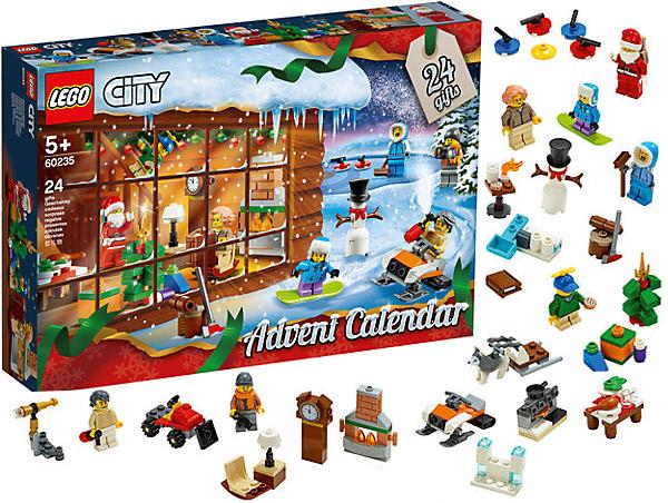 Адвент-календарь лот Лего