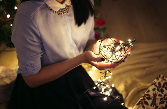 Гирлянда для новогоднего настроения
