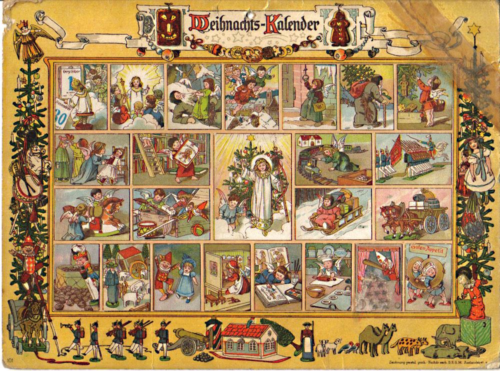 Что такое Адвент-календарь и как он появился