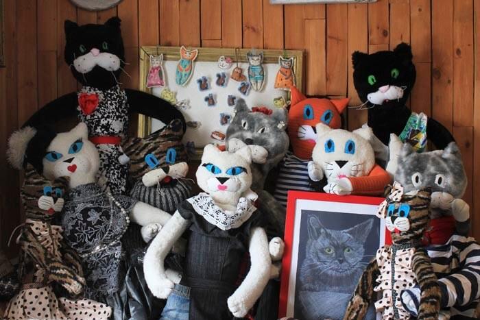 Коты из деревни Даньки