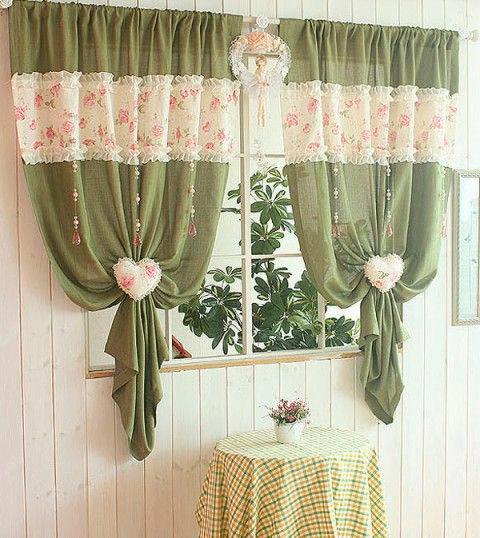 Как украсить шторы тканями партнерами