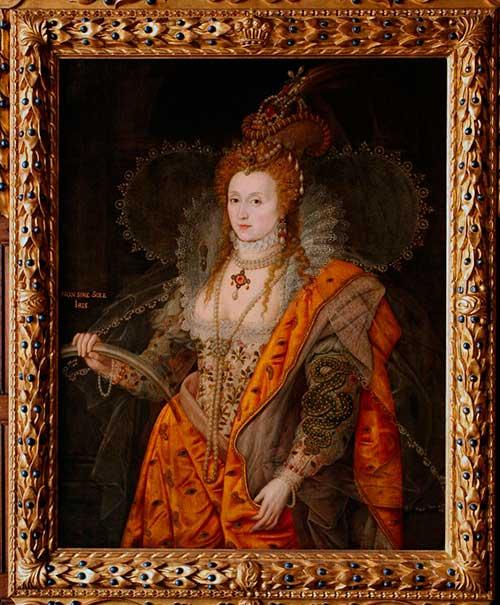 Портрет Елизаветы с радугой