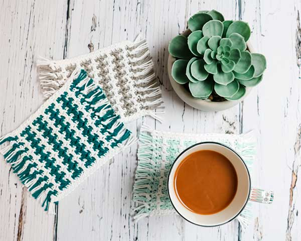 Мозаичное вязание для млейсматов