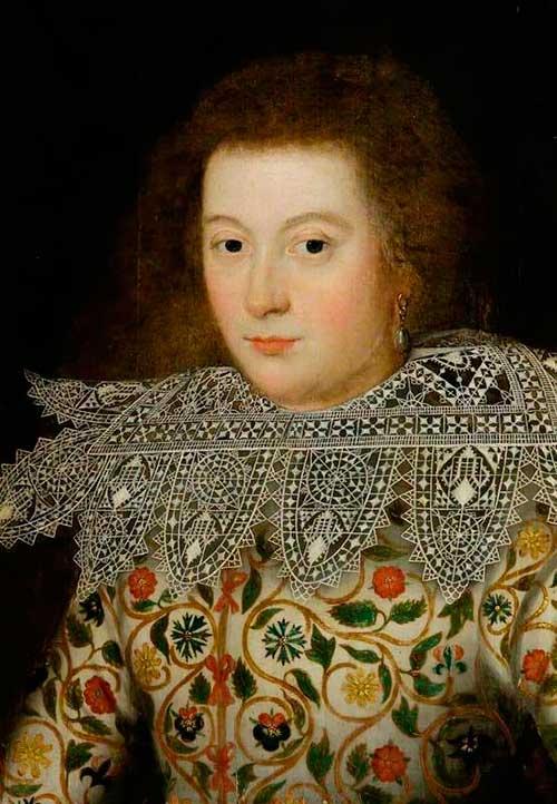 Елизаветинская вышивка на портретах английской знати 1