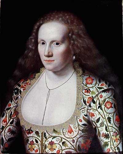 Елизаветинская вышивка на портретах английской знати 2