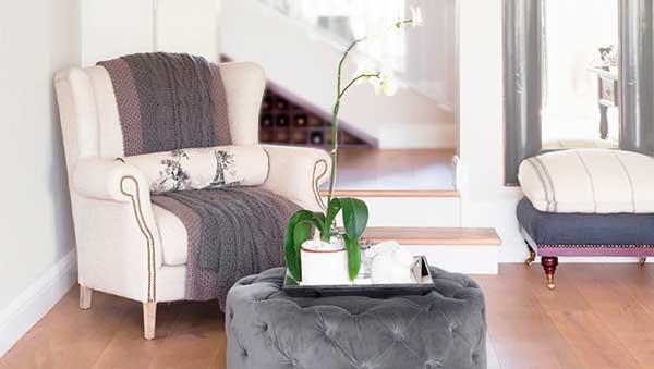 Вязание в интерьере дома —вязаные пледы